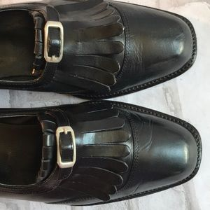 Joan & David Leather Loafers Made in Italy Sz 9.5